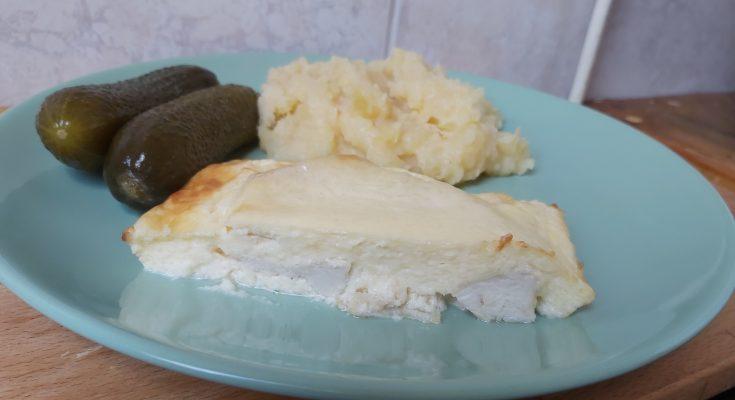 sajtos tejfölös csirkemell sütőben