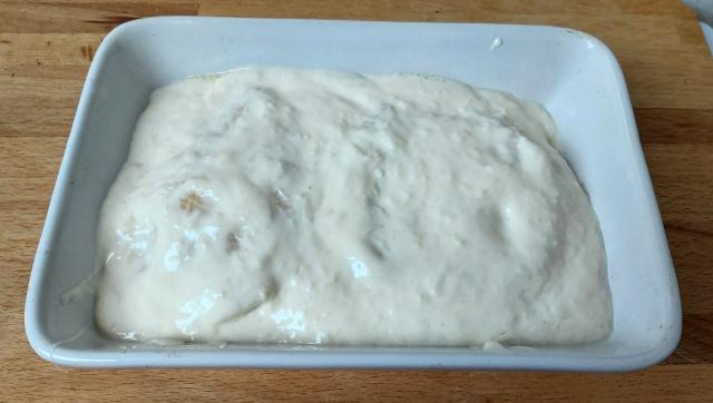 sajtos tejfölös csirkemell sütés előtt