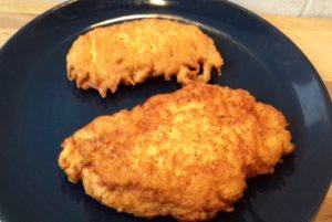 borzas csirkemell kisütve