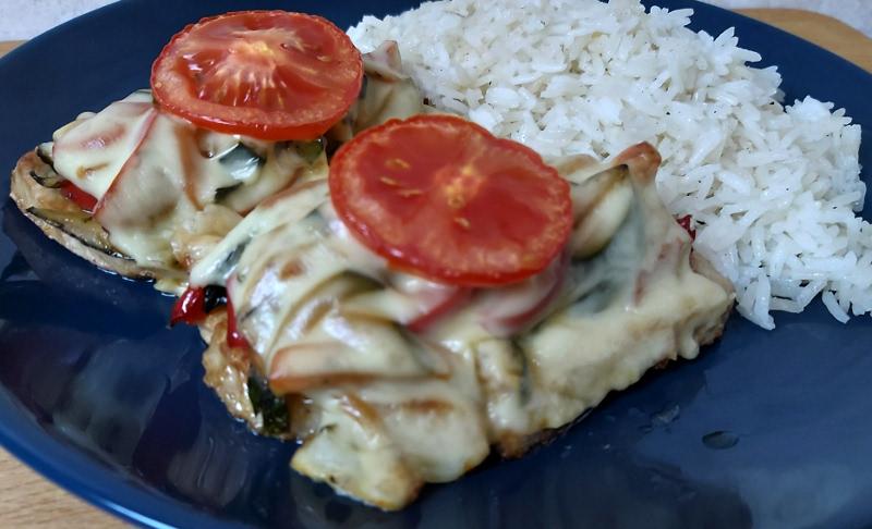 cukkinis zöldséges csirkemell