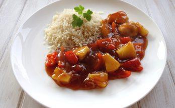 kínai édes savanyú csirke ananásszal