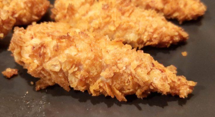 csirkemell chips bundában sütőben