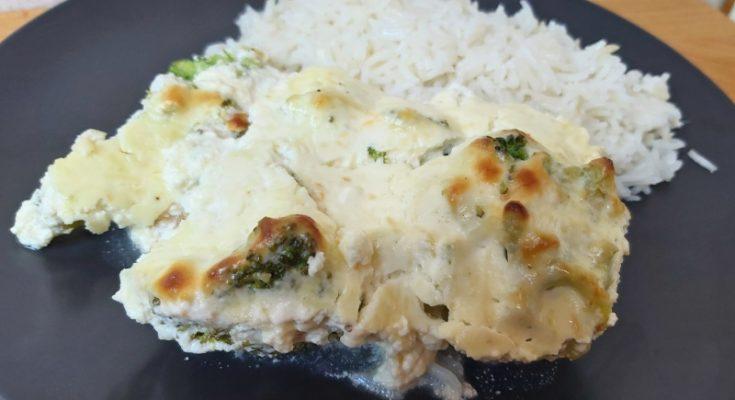 csőben sült brokkolis csirkemell recept